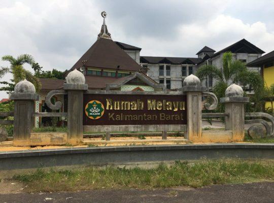 Menikmati Keangunan Rumah Adat Melayu Pontianak