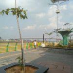 Menikmati Sungai Kapuas Di Waterfront City Pontianak